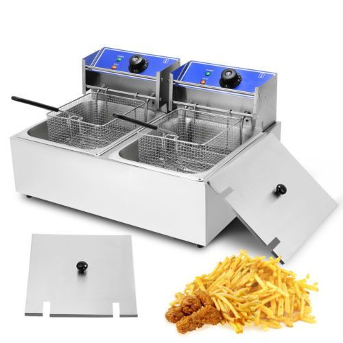Deep Fryer 3000w 20l Commercial Deep Fryer Electric Countertop