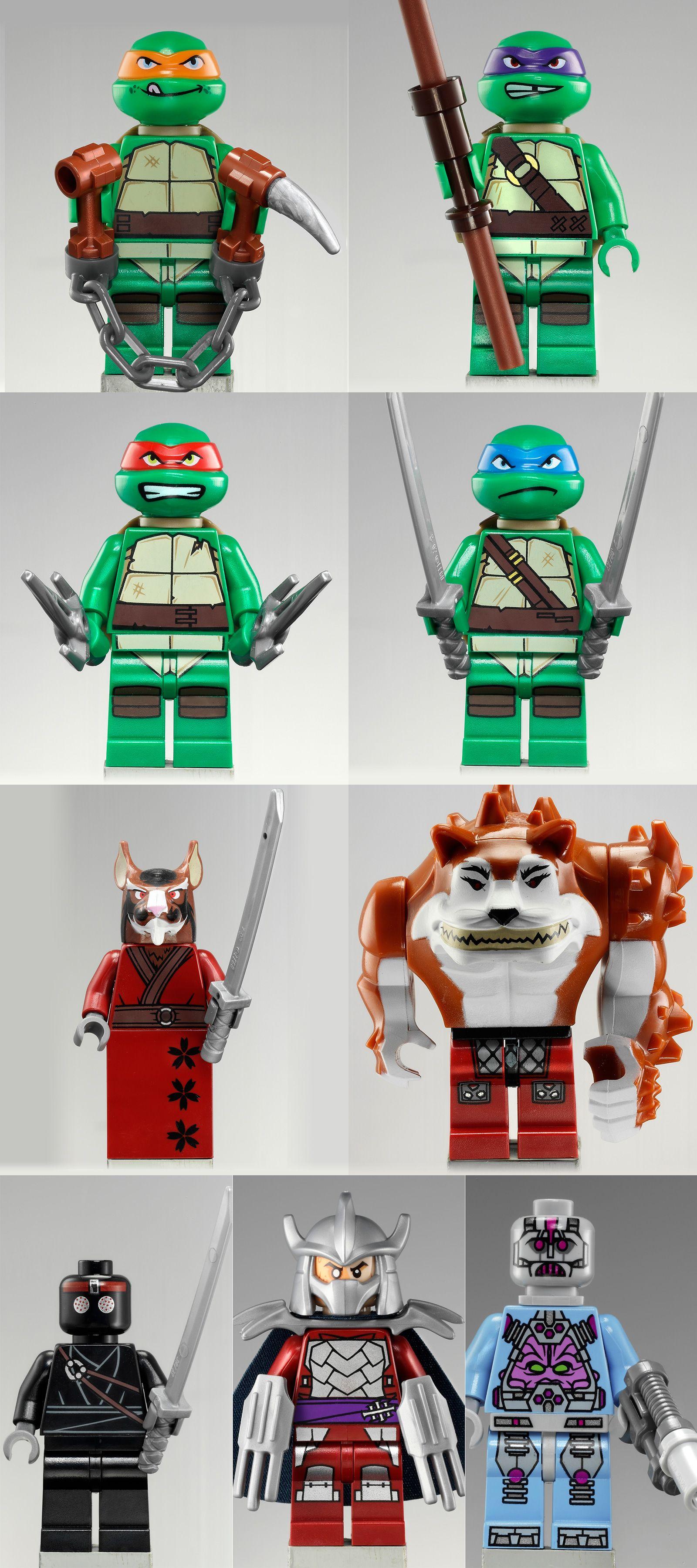 Teenage Mutant Ninja Turtles Lego