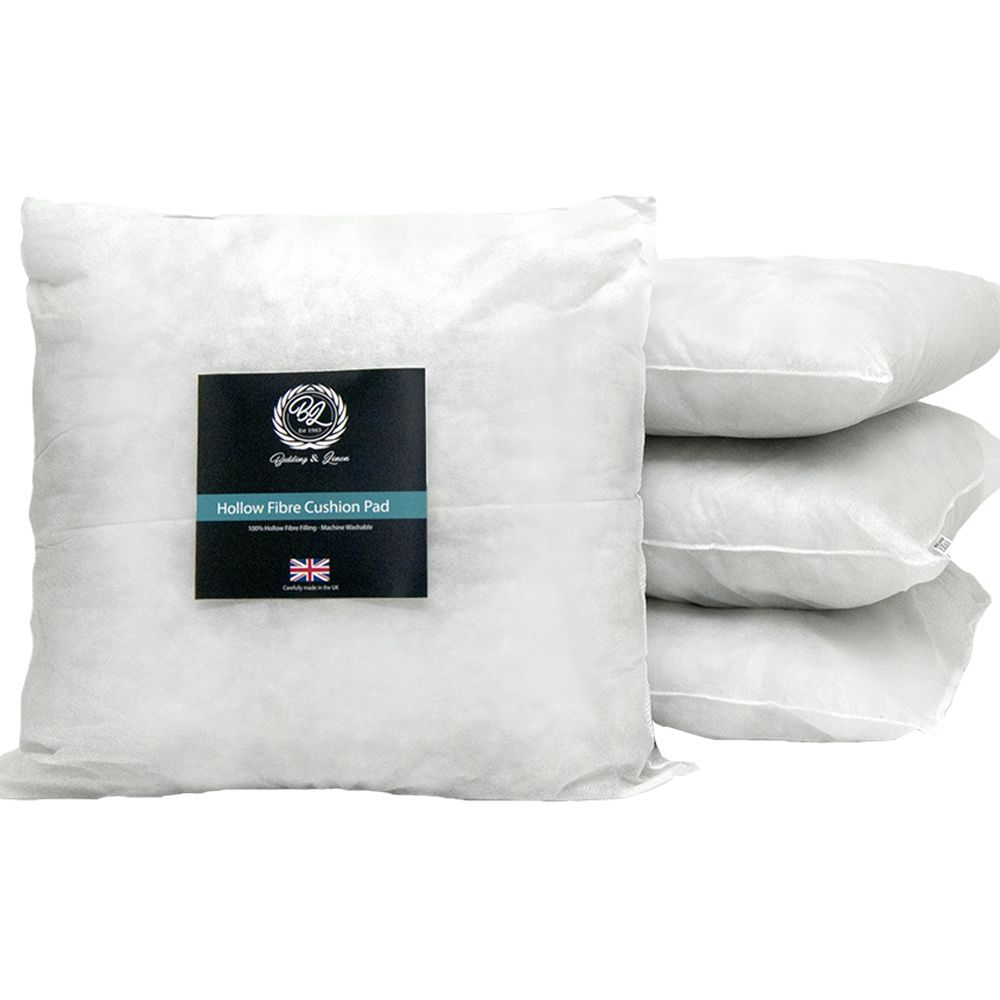 Cushion Inner Pad Hollowfibre Inserts Pads Extra Filled Cushions Inners Fillers