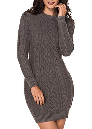 7 Captivating Styles of Sweater Dresses for Women - Cute Winter Dressing  2000778e8