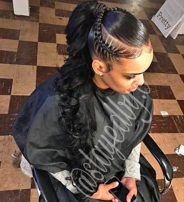 Pinterest Jr Rodgers Weave Ponytail Hairstyles Ponytail Styles Hair Styles