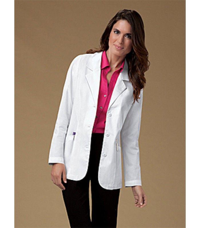 a4348379510 Cherokee 348 Female Lab Coat 30