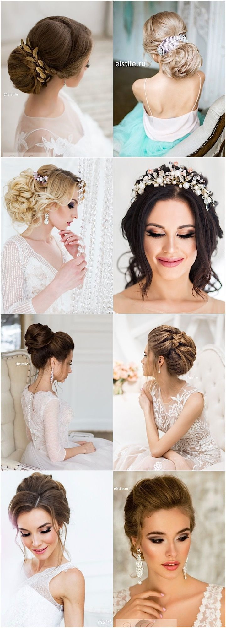 Wedding Hairstyle : Featured Updo Wedding Hairstyle: Elstile; www ...