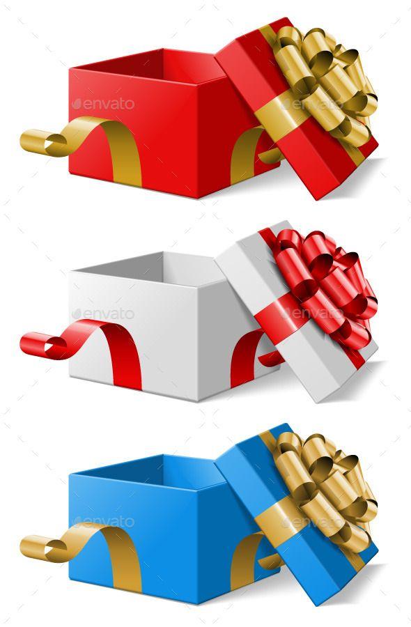 Open Christmas Gift Box Christmas Gift Vector Christmas Gift Box Christmas Gifts