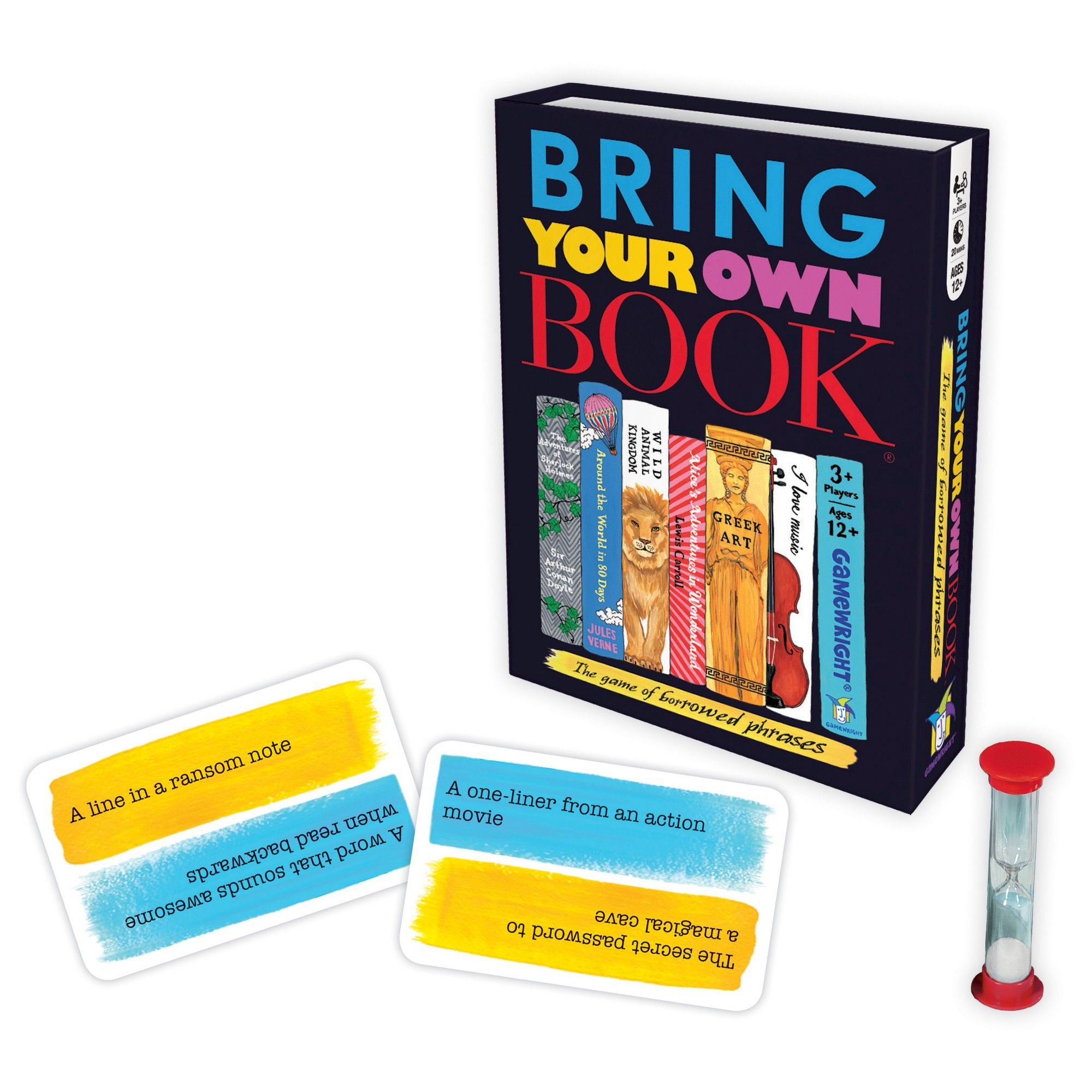 Bring Your Own Book Game Card Games With Images Family Game