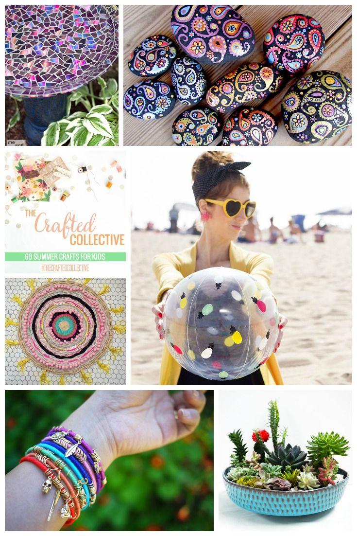 60 Summer Crafts For Kids Teens