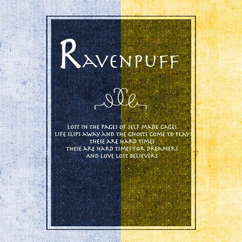 Ravenpuff Playlist On 8tracks Harry Potter Obsession Ravenclaw Pride Harry Potter Books