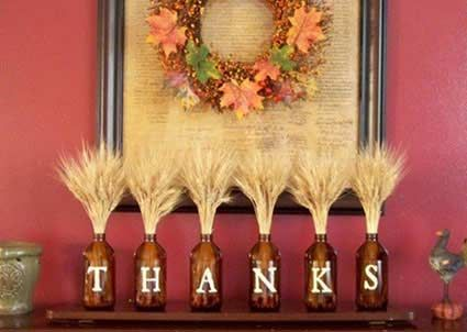 Beautiful Unique Thanksgiving Decoration Pictures Design