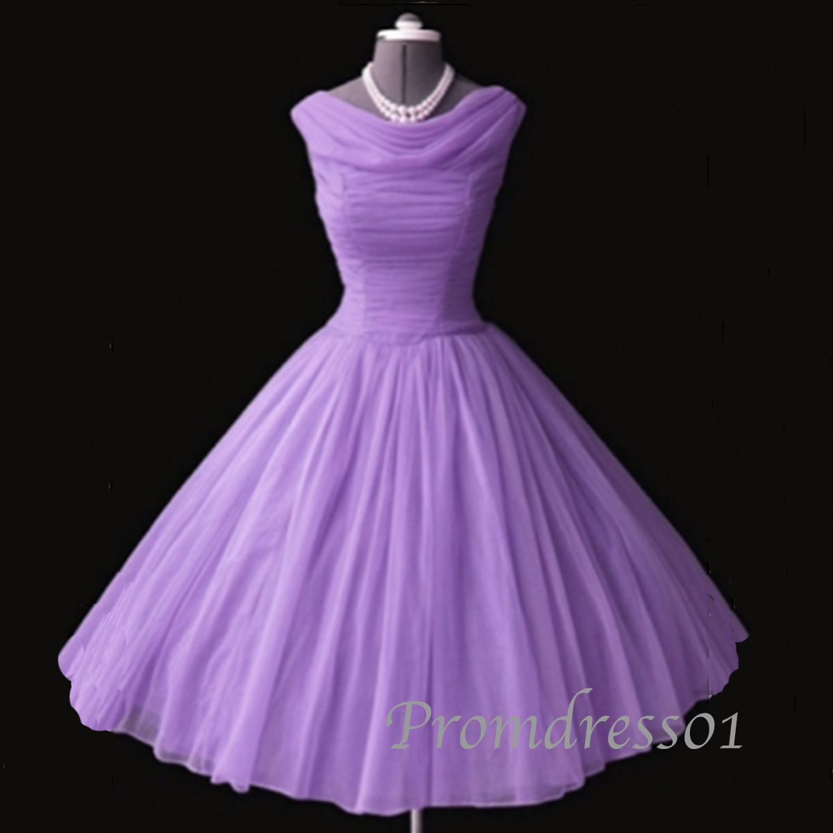 Light purple vintage prom dress, bridesmaid dress | Clothes ...
