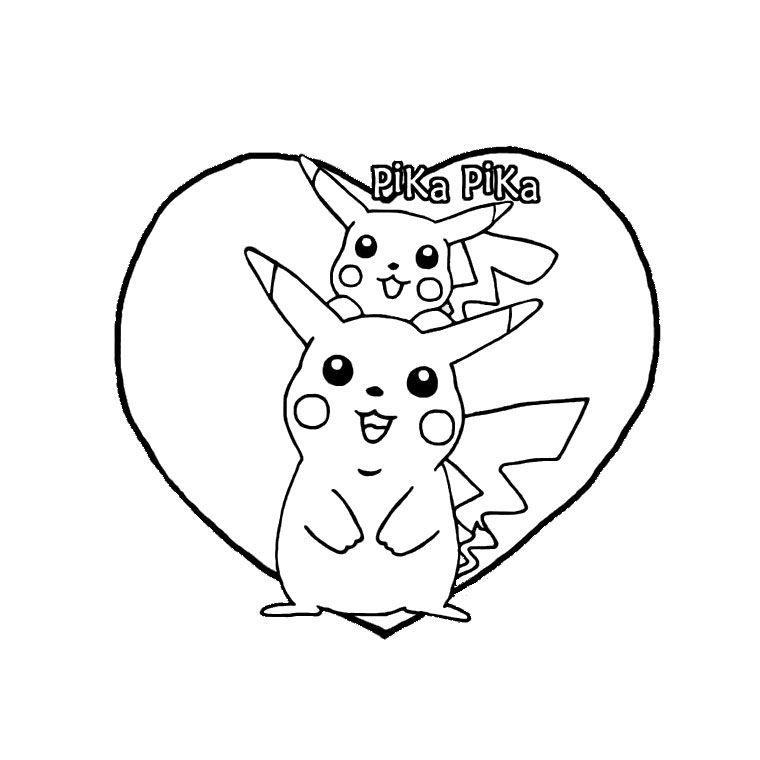 Coloriage Pokemon Mignon A Imprimer Gratuit Coloriage