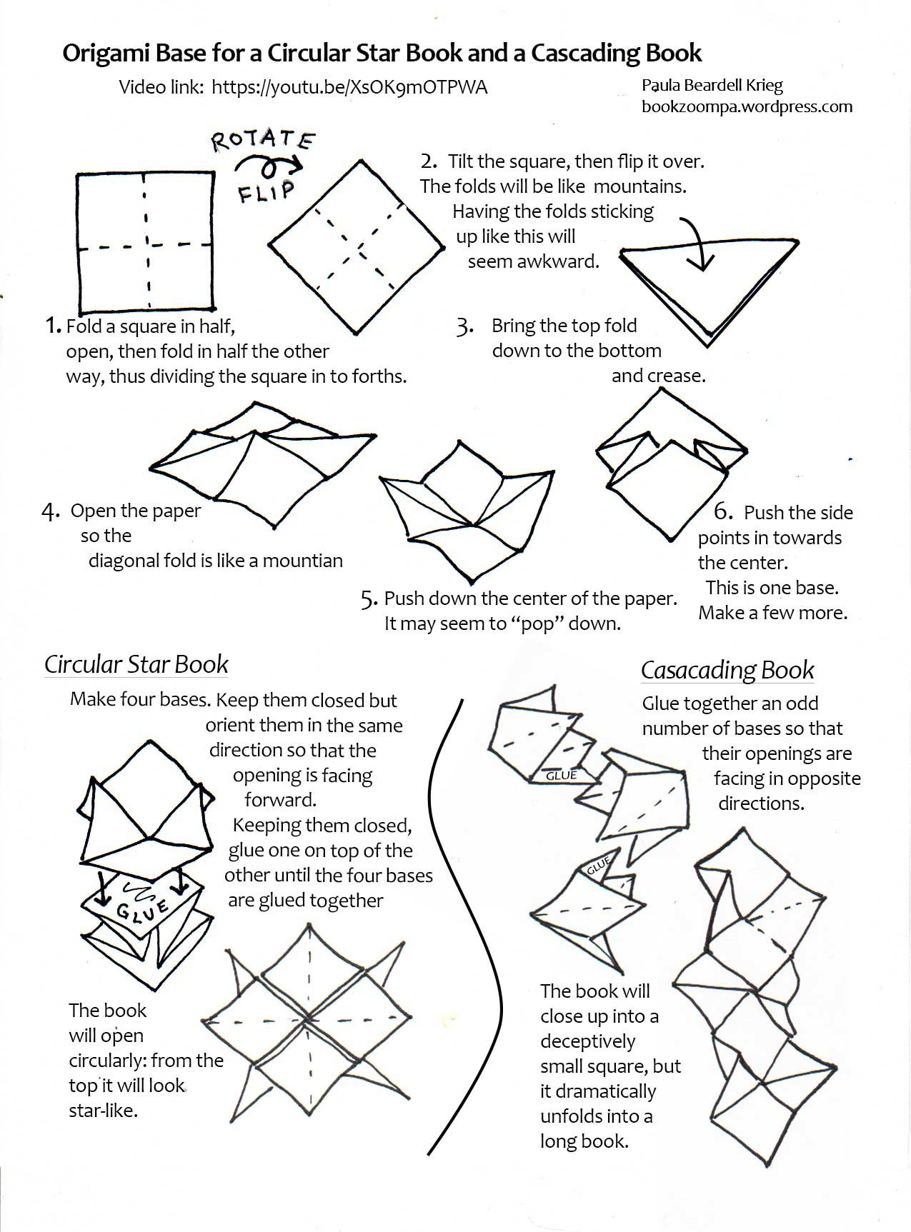 Image Result For How To Fold A Paper Book With Images