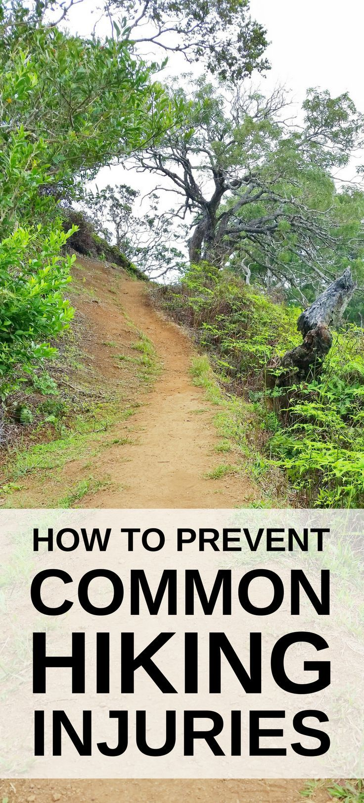 Photo of Hiking Tips: How to prevent knee pain from hiking hills :: hiking injuries. walking injuries.