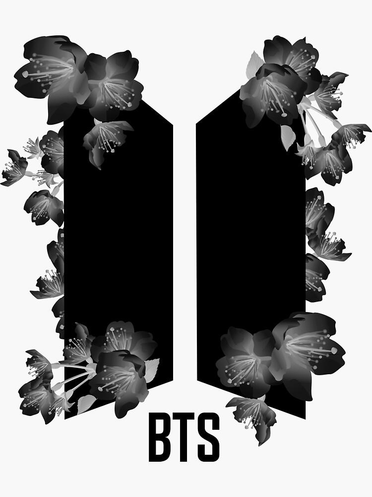 Bts Logo Sticker Sticker By Tmrkvc In 2021 Bts Tattoos Bts Tattoo Ideas Logo Art Logo