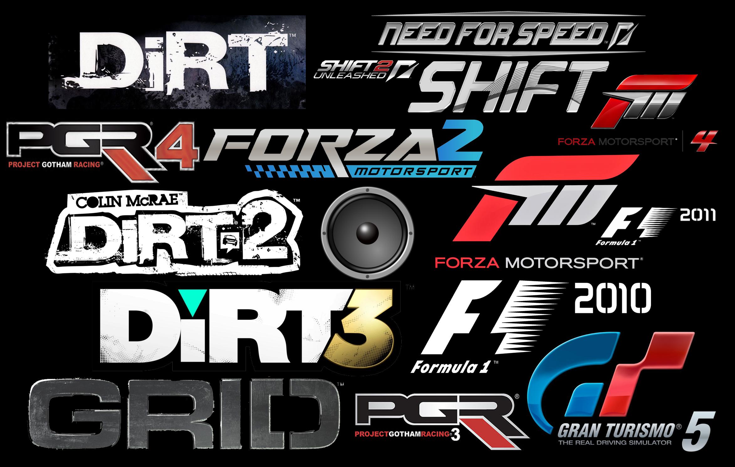 racing games logo Logos Pinterest Game logo, Logo