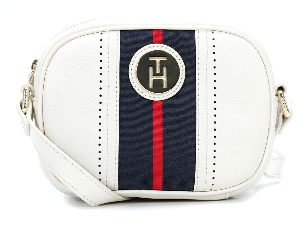 b395e6502940 Tommy Hilfiger Womens Waverly Mini Crossover Cross-Body Bag ...