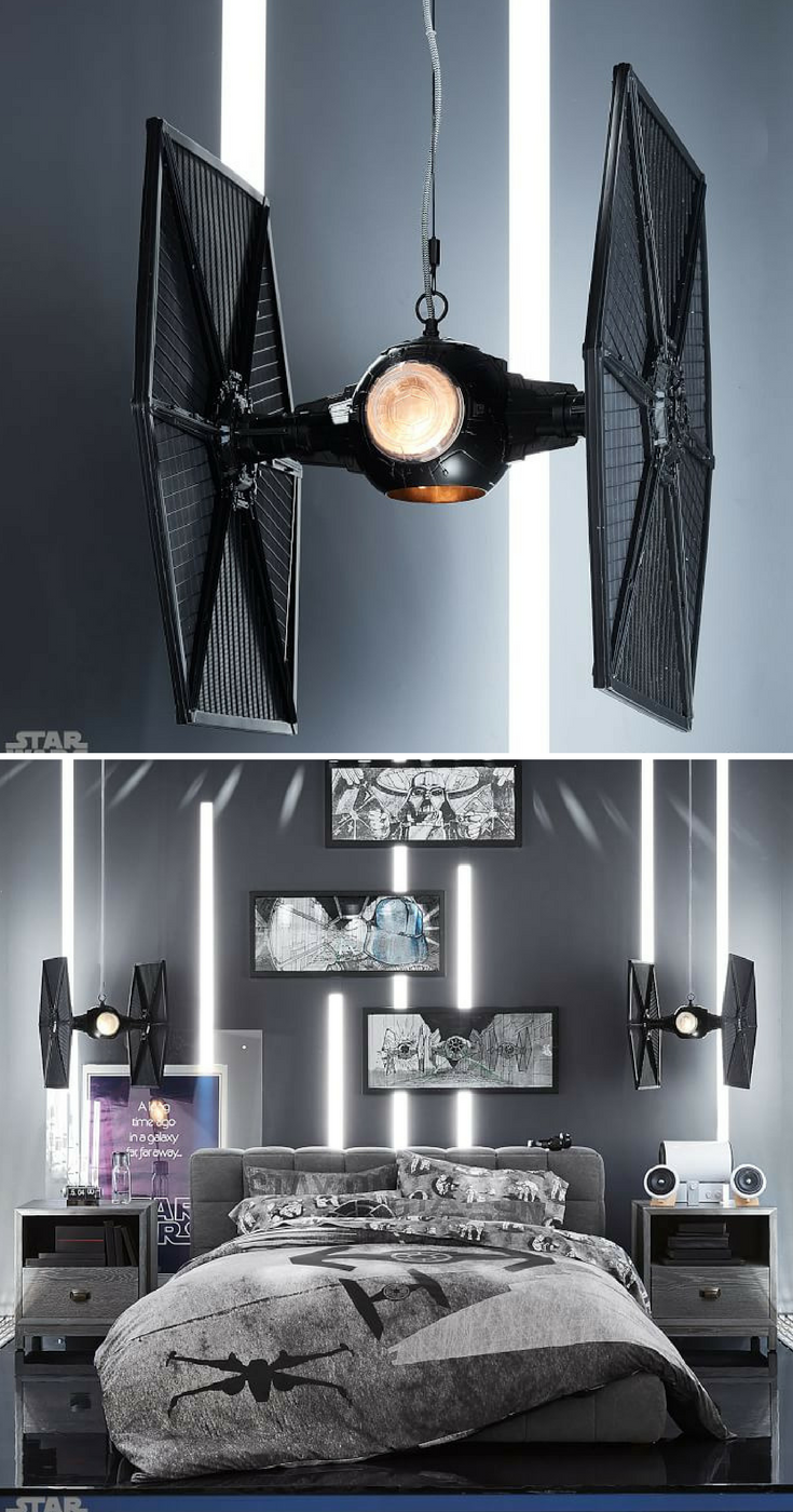 Awesome TIE Fighter pendant. Designed to look like the Imperial ...