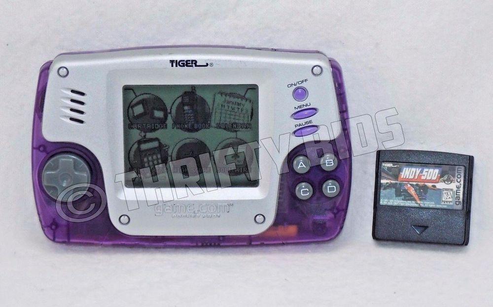 Tiger Pocket Pro Handheld System Purple & Indy