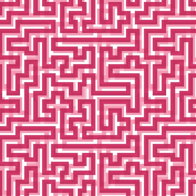 Meander Hot Pink Christopher Farr Fabric Upholstry Fabric