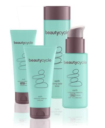 EARTH – restore balanced skin. Normal to oily skin finds balance through the rich mixture of essential minerals found in beautycycle Earth products, helping to reduce and control oil and diminish the appearance of pores, leaving skin clean and clear. Wh Gallery