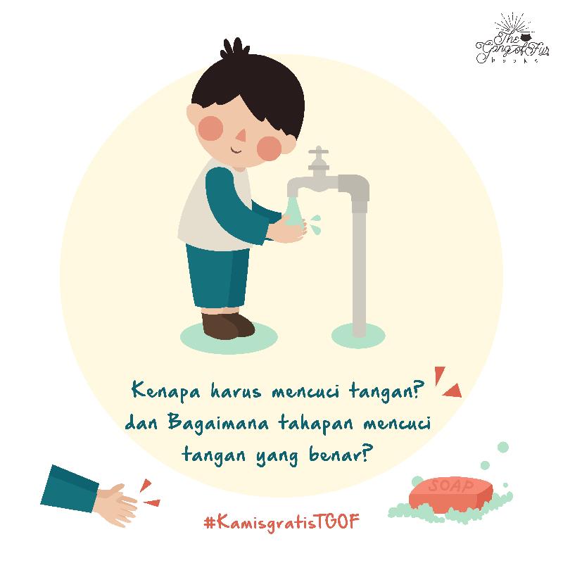 Free Printable Cuci Tangan Mencuci Tangan Poster Ilustrasi