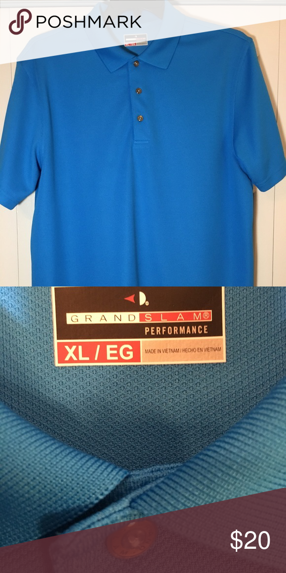 54bc1ba76 Grand Slam golf shirt by Kohl's Golf gents! No tags but Brand New  Comfortable golf