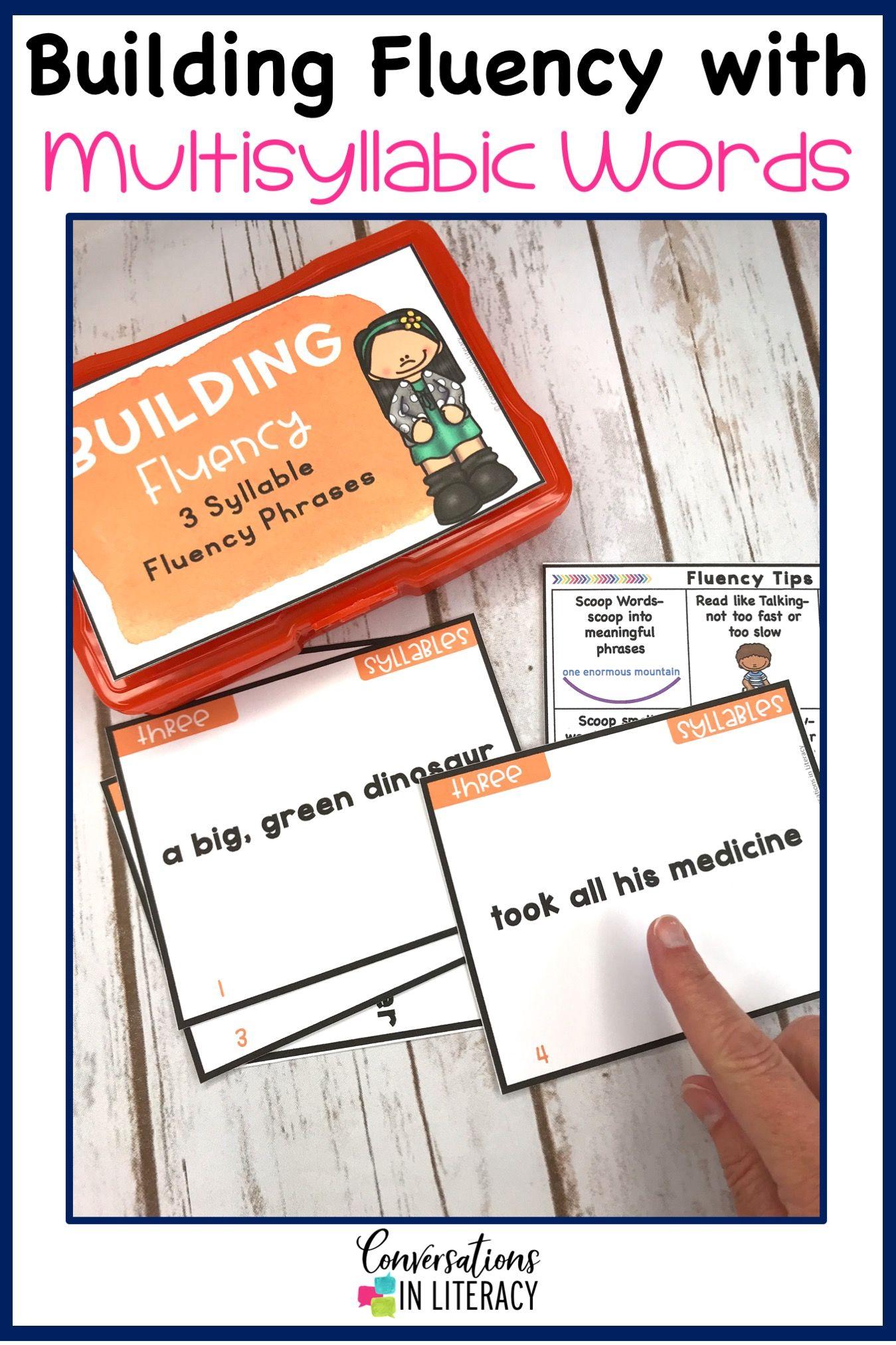 Tips for Teaching Fluency Phrases Task Cards for Fluency phrases and fluency passages for reading p