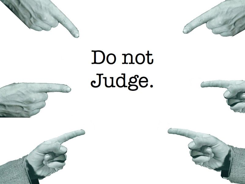 The Christian concept of judging