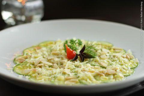 Othelo (almoço)    Carpaccio de Zucchini