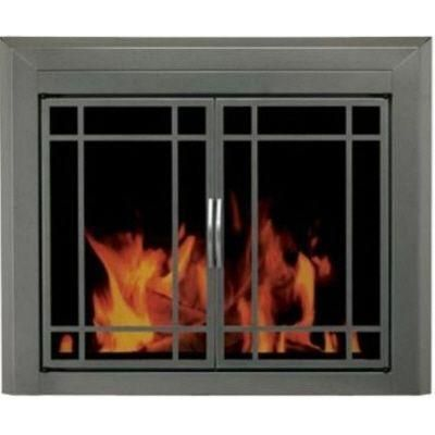 Fireplace Screen Mission Style Fireplace Doors Glass Fireplace Fireplace Glass Doors