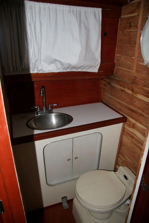 Bathroom Makeover In Hull 1962 32' chris-craft roamer classic steel hull cruiser | roamer