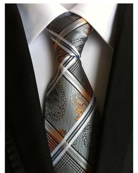 Men Ties Necktie Skinny Gentlemen Tie Necktie Elegant Ties for Business Dances