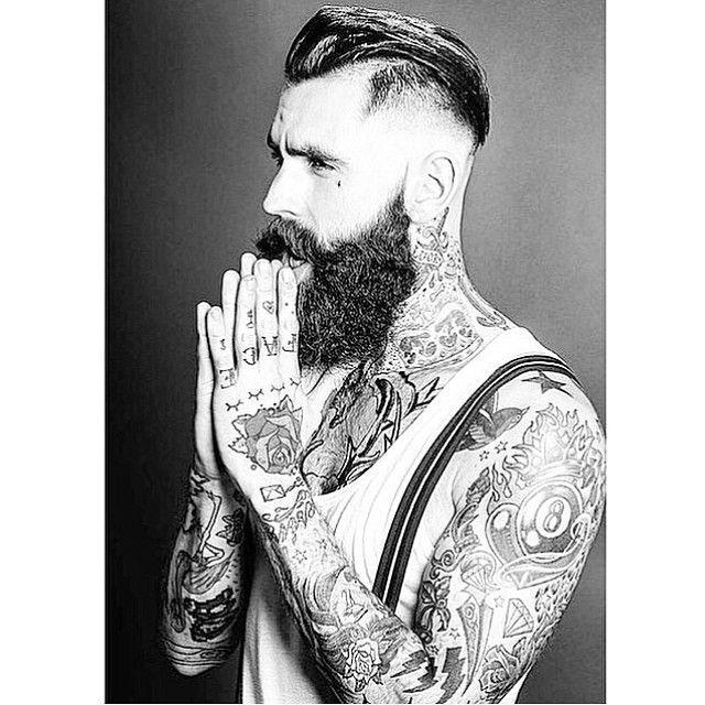 style retro vintage dapper suspenders tattoos tattooed ...