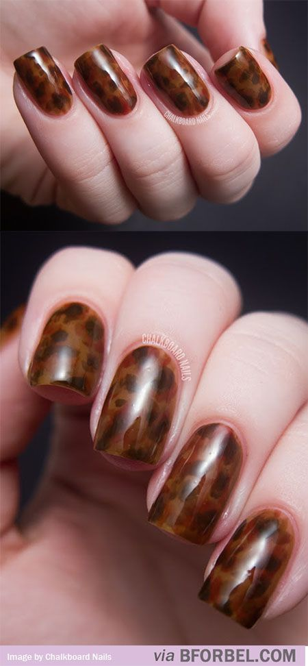 Tortoise Shell Nails | The House of Beccaria