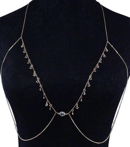 500d43e3a6594 Caitlin Chain Bralette