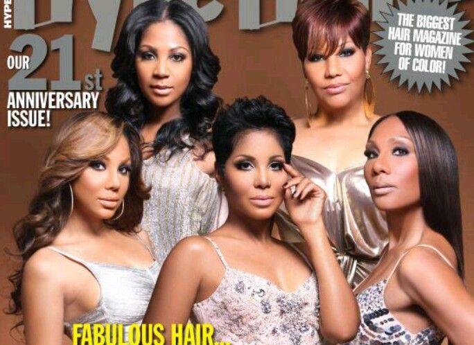 Braxton's, hair, red, pixie, curls, straight.