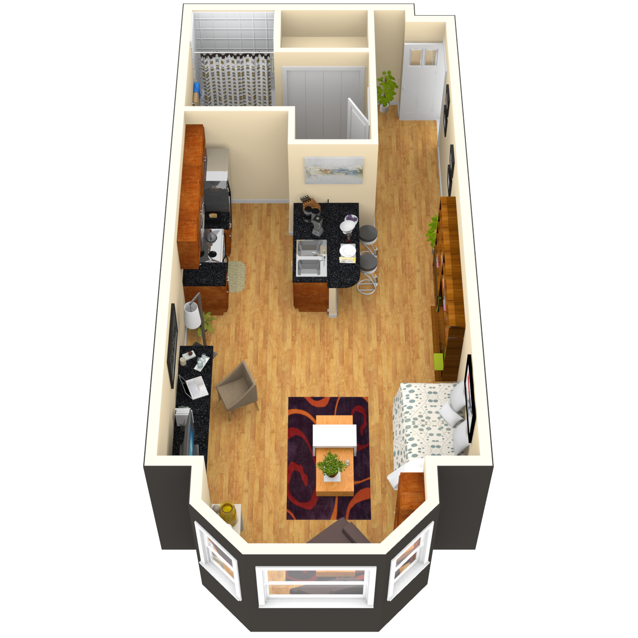 Studio 1 And 2 Bedroom Apartments Townhomes In San Francisco Ca With A Parking Garage Apartment 2 Bedroom Apartment Townhouse