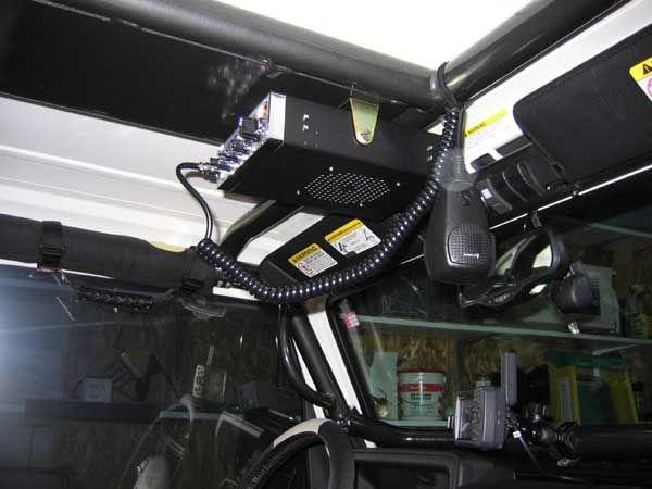 jeep cb radio cb radio mounts in a tj. Black Bedroom Furniture Sets. Home Design Ideas