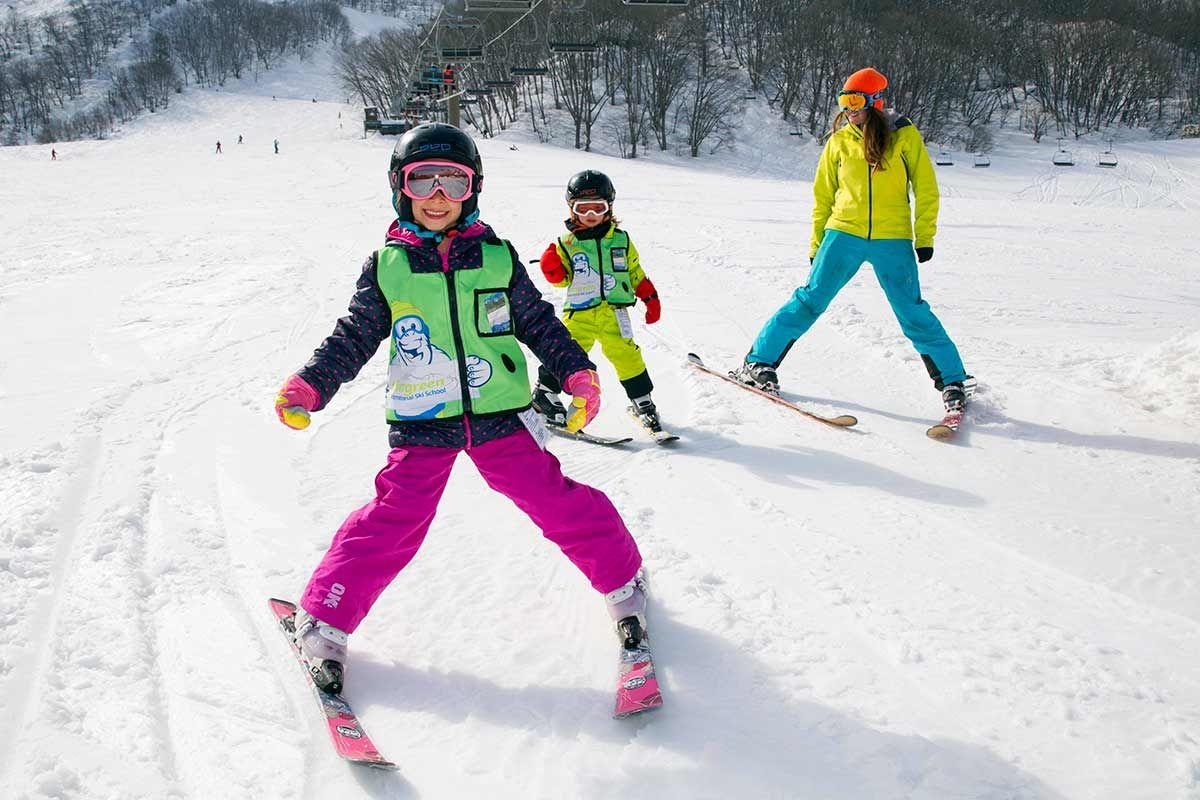 Children S Group Lessons Group Lesson Ski Schools Lesson