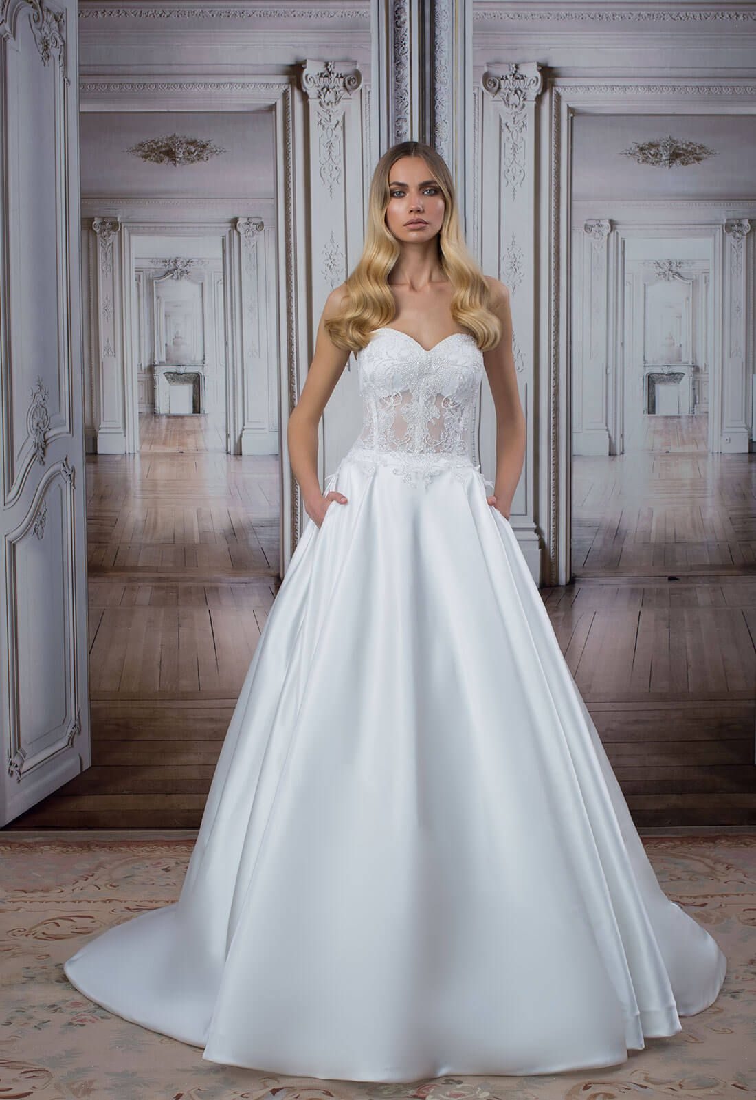 Style no pnina tornai love wedding gown collection