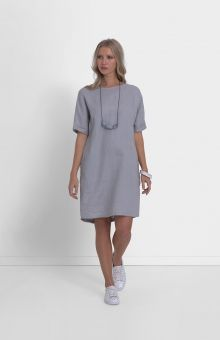 3ed15142f3 The Linen Shift Dress has fast proven to be a season favourite. Crafted  from 100