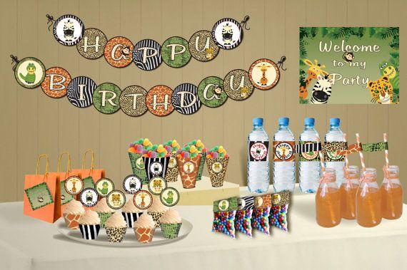 Jungle Birthday Decoration