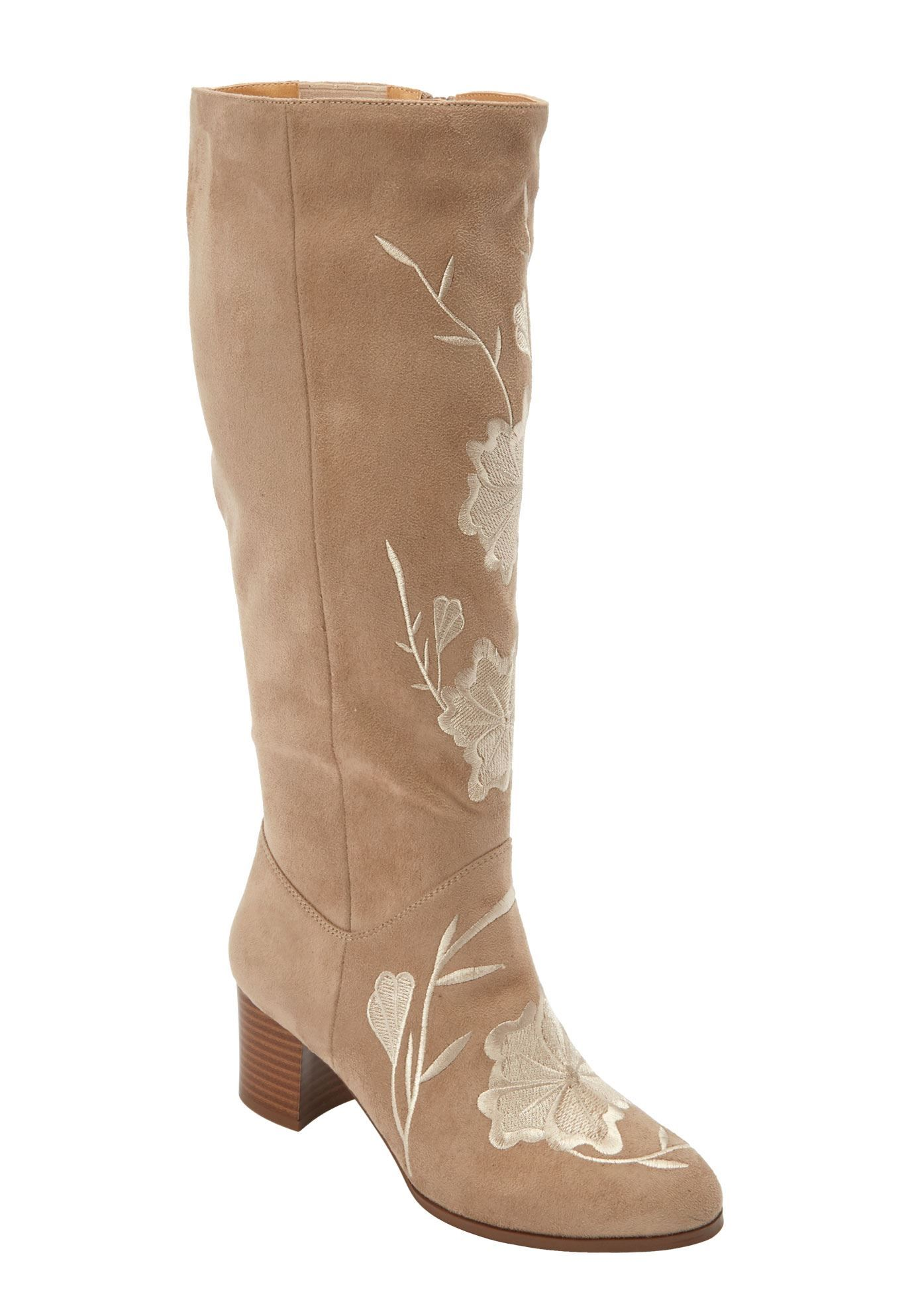 ee8b1a9cc80 The Ayana Wide Calf Boot by Comfortview - Women s Plus Size Clothing ...