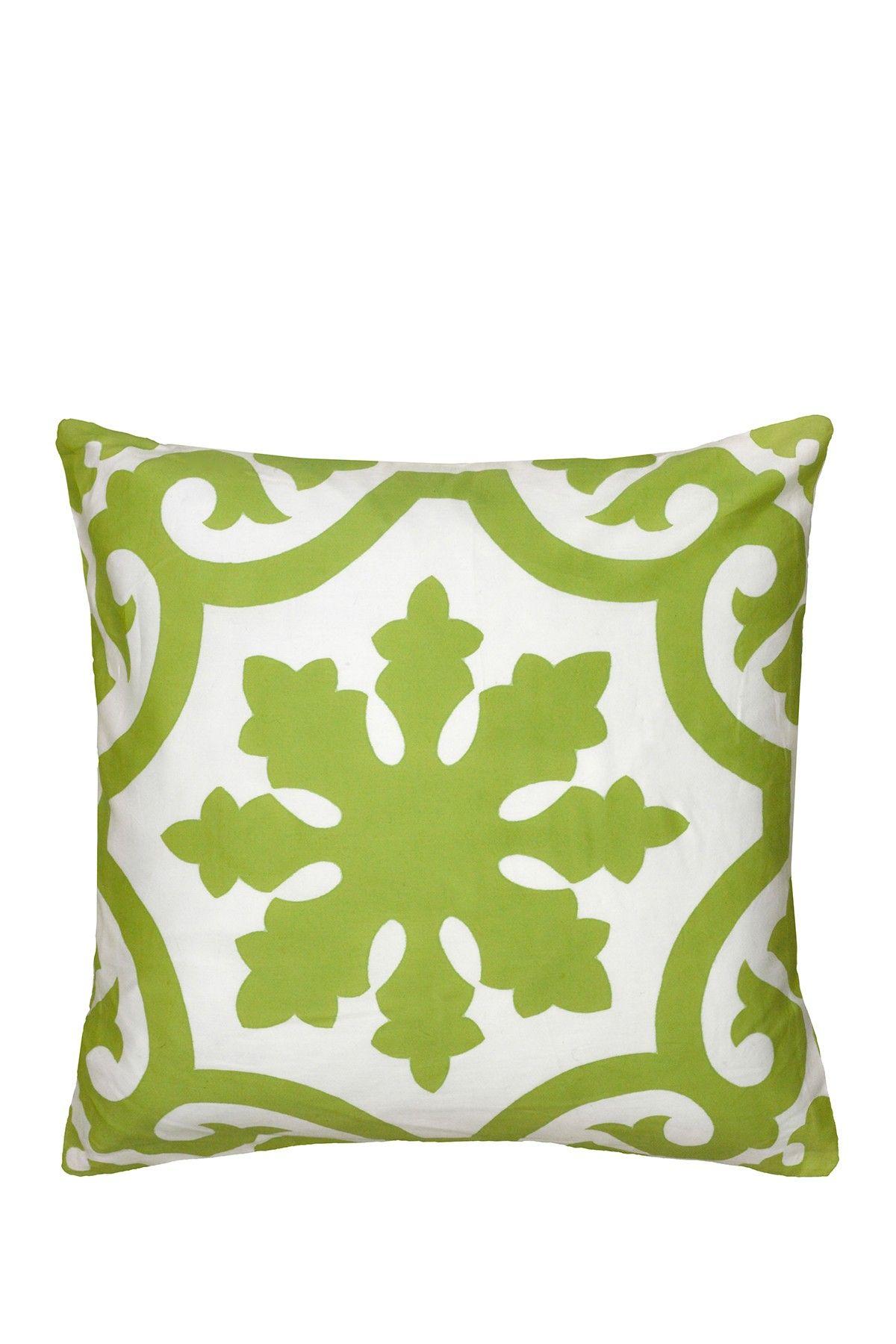 "Decorative Pillow - 18"" x 18"" - Lime"
