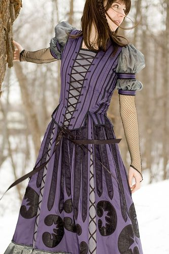 Series Unfortunate Events Violet Costume