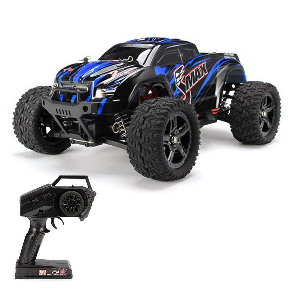 Remo Hobby 1631 Smax 2 4g 1 16 4wd Brushed Off Road Rc Car Monster Truck Rtr Blue Rc Cars Monster Trucks Rc Cars And Trucks