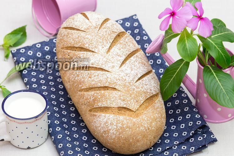 Деревенский ржаной хлеб на солоде рецепт с фото, как ...