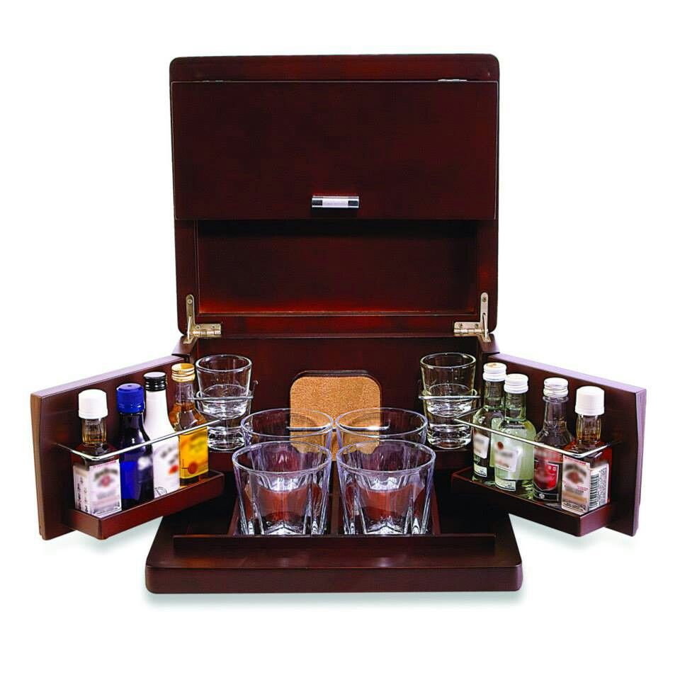 Portable Liquor Cabinet Antarctic Whisky Cabinet By Alfred Dunhill Alcohol Packaging