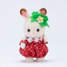 Calico Critters Sylvanian Families BABY Trio Fruit NEW IN BOX FRUIT TRIO