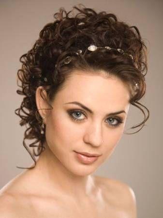 Resultado de imagem para penteado preso para noiva cabelo ENCARACOLADO