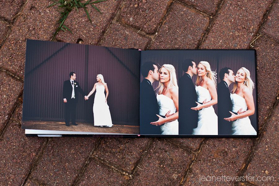New Sample Wedding Photobook Jeanette Verster Photography